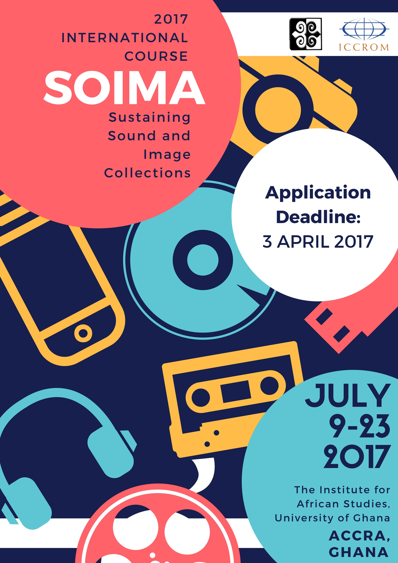 fiat ifta soima international course application deadline to apply applicants should send their completed form a completed personal statement to soima2017 iccrom org
